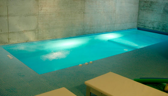piscina de hormigon - Piscinas De Obra Pequeas
